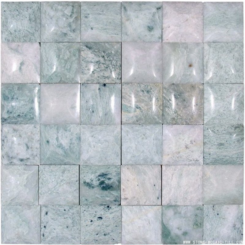 Blue onyx marble mosaic for wall decoration
